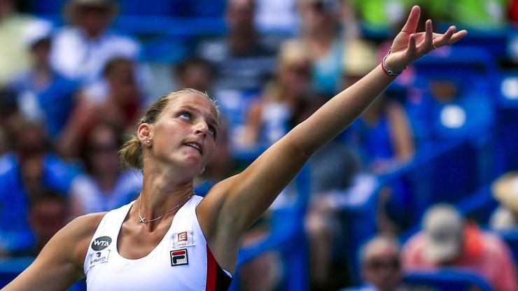 Triumf Pliskovej, Kerber bez 1. miejsca w rankingu