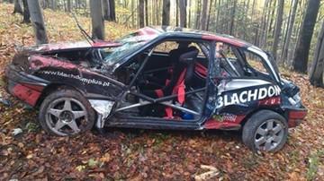 2015-10-19 Makabryczny wypadek podczas Rajdu Dolnośląskiego