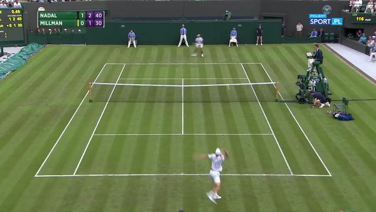 Najładniejsze akcje Wimbledonu - 03.07