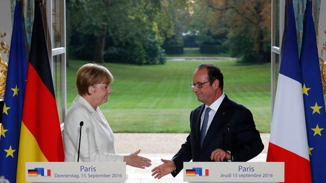 Hollande i Merkel chcą przyjęcia w Bratysławie agendy dla UE