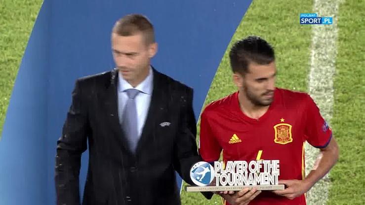 Dani Ceballos najlepszym piłkarzem Euro U-21