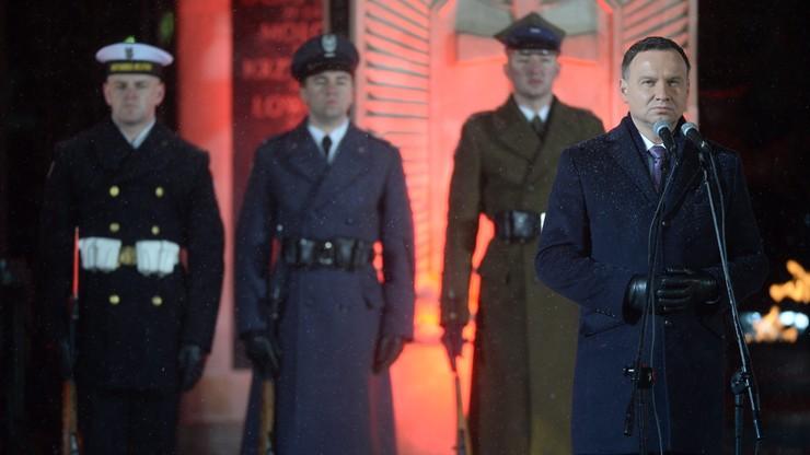 Prezydent o Żołnierzach Wyklętych: Polska nie zapomni najwierniejszych synów