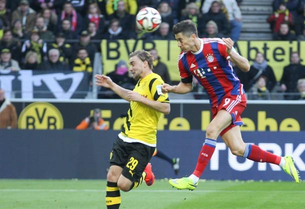 Lewandowski znów strzela w Dortmundzie