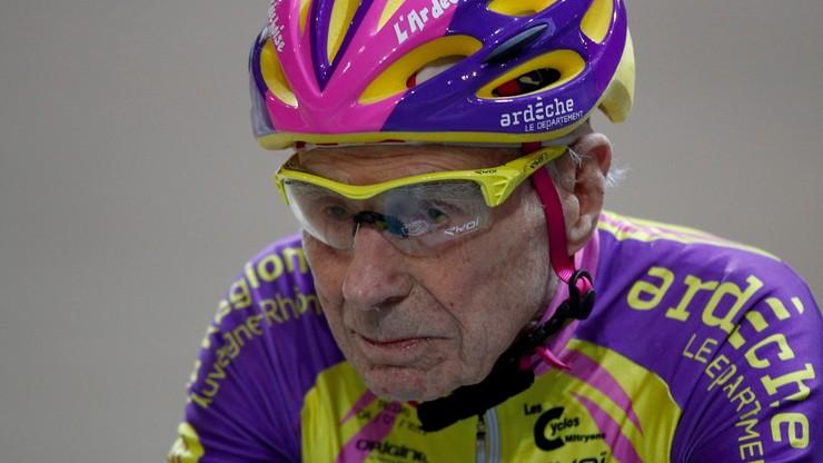 Fogiel z Paryża: 106-letni kolarz kończy karierę