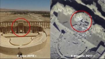 13-02-2017 21:38 Dżihadyści niszczą Palmirę. Rosjanie pokazali nagranie
