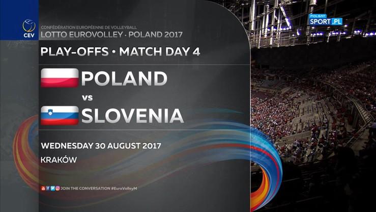 Polska - Słowenia 0:3. Skrót meczu
