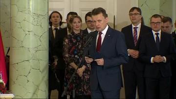 Mariusz Błaszczak - minister obrony narodowej