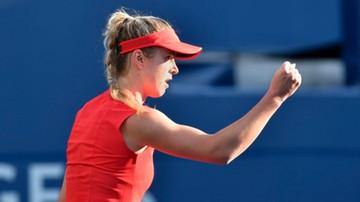 2017-08-13 WTA w Toronto: Switolina pokonała Wozniacki w finale