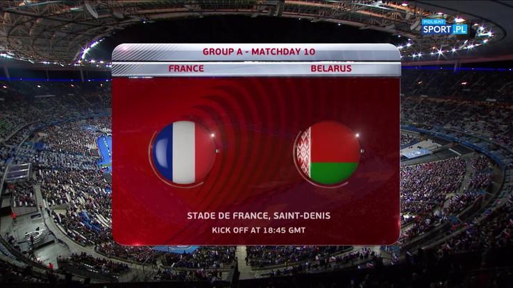 Francja - Białoruś 2:1. Skrót meczu