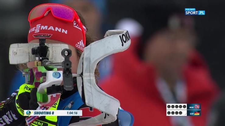 Biathlon: Niemki znowu najlepsze w sztafecie! Polki daleko