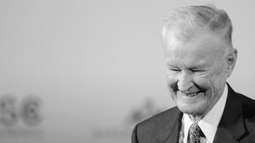 27-05-2017 08:25 Nie żyje Zbigniew Brzeziński, politolog, doradca prezydenta Cartera