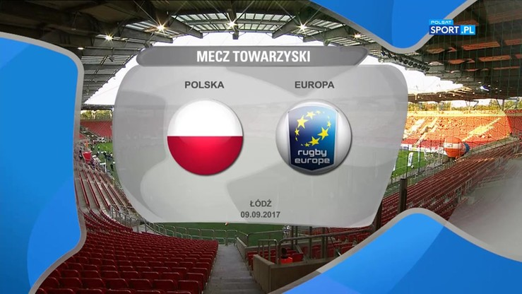 Polska - Europa 52:12. Skrót meczu