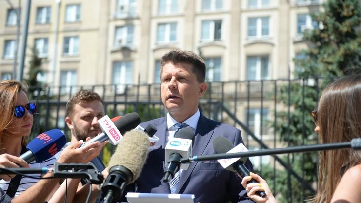 Petru: byliśmy monitorowani, inwigilowani przez polską policję w dniu 21 lipca
