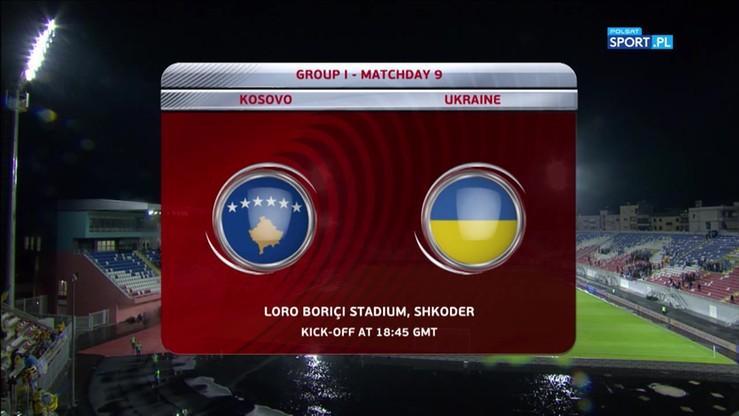 2017-10-07 El. MŚ 2018: Kosowo - Ukraina 0:2. Skrót meczu
