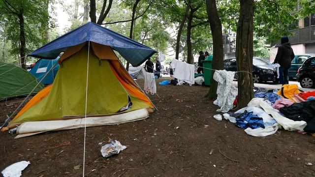 Na piechotę przez pół Europy - z piekła do namiotu w parku