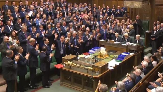 Cameron pożegnał się z Izbą Gmin