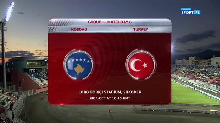 Kosowo - Turcja 1:4. Skrót meczu
