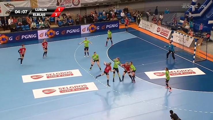 MKS Selgros Lublin - Start Elbląg 26:25. Skrót meczu