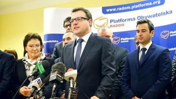 19-04-2017 16:32 Wojewoda wezwał radnych do wygaszenia mandatu prezydenta Radomia