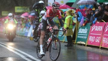16-07-2016 19:04 Tour de Pologne: Wellens wygrał dramatyczny etap do Zakopanego. Kwiatkowski leżał w kraksie