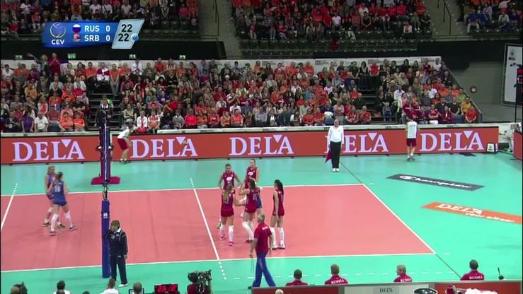 Rosja - Serbia 3:1. Skrót meczu