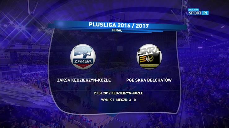 ZAKSA Kędzierzyn-Koźle - PGE Skra Bełchatów 3:1. Skrót meczu