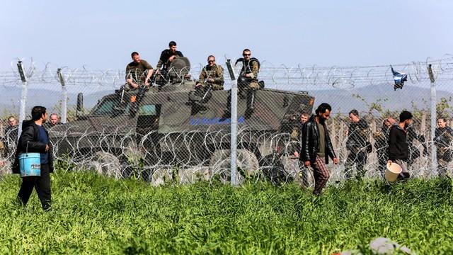 Grecja: co najmniej 400 uchodźców przewieziono z Idomeni do ośrodków