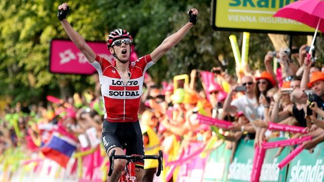 Tour de Pologne: Belg wygrywa w Zakopanem, Kwiatkowski pogrzebał szanse