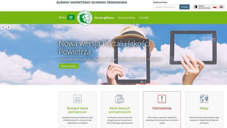 Ruszył nowy Portal Jakości Powietrza. KE pozwała Polskę za pyły