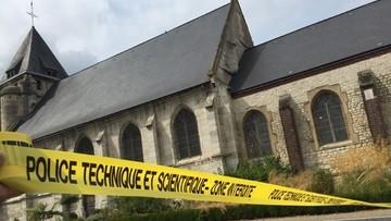27-07-2016 05:09 Zabójca księdza z Normandii zidentyfikowany. To znany policji dżihadysta