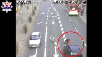 19-10-2016 19:05 Policja publikuje wstrząsające nagranie wypadku. Ku przestrodze