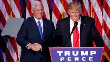 12-11-2016 09:42 Pierwsze zmiany kadrowe w rządzie Trumpa. Pence pokieruje zespołem ds. przejęcia administracji USA