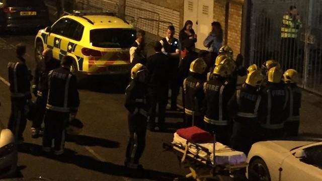 W. Brytania: 12 rannych po ataku substancją żrącą w klubie w Londynie