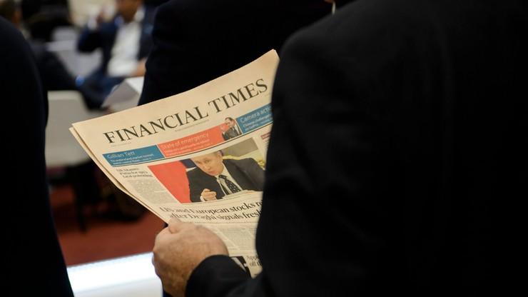 """Dziennikarze """"Financial Times"""" podjęli decyzję o strajku"""