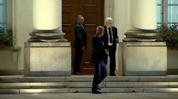 W Belwederze odbyło się spotkanie prezydenta z prezesem PiS