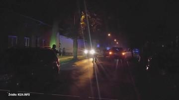 Strzały w Inowrocławiu. Dwóch policjantów rannych
