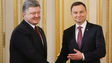 15-12-2015 16:30 Duda w Kijowie: o Ukrainie na szczycie NATO i 4 mld zł linii kredytowej