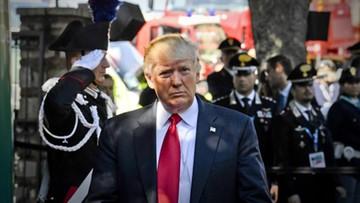 """27-05-2017 15:40 Trump: """"pieniądze zaczynają napływać"""" do NATO; Sojusz będzie silniejszy"""