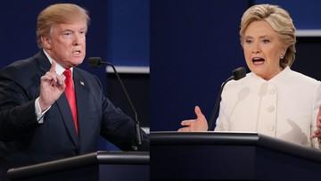 20-10-2016 05:10 Finałowa debata prezydencka: o broni, Sądzie Najwyższym i kto wpłaca na fundację Clintonów