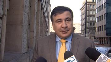 Saakaszwili: szukają mnie na granicy polsko-ukraińskiej, otwierają każdy bagażnik