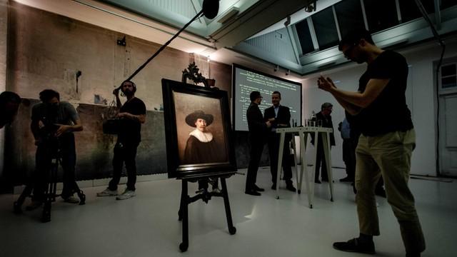 Holandia: W Amsterdamie pokazano najnowszy portret Rembrandta