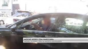 Mocne wideo warszawskiego ZDM. Wrzaski, wyzwiska i ataki na kontrolerów