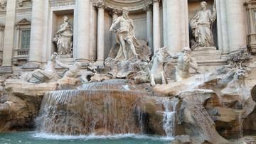 Włochy: z Fontanny di Trevi wyłowiono w zeszłym roku 1,4 mln euro