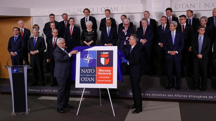 W Brukseli zaprezentowano logo lipcowego szczytu NATO w Warszawie