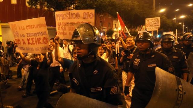 Peru: ogólnokrajowy protest przeciw Keiko Fujimori, córce skorumpowanego byłego prezydenta