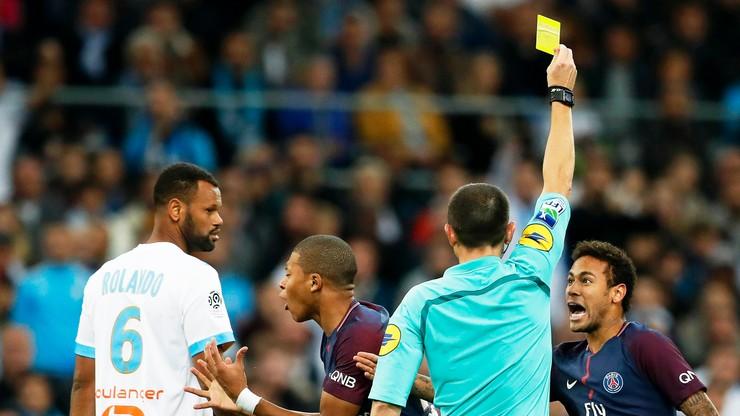 Remis w hicie Ligue 1! Neymar wyrzucony z boiska