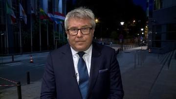 """""""KE nie uważa, by Polska przekroczyła cienką czerwoną linię"""". Czarnecki o przecieku ws. stanowiska Komisji"""