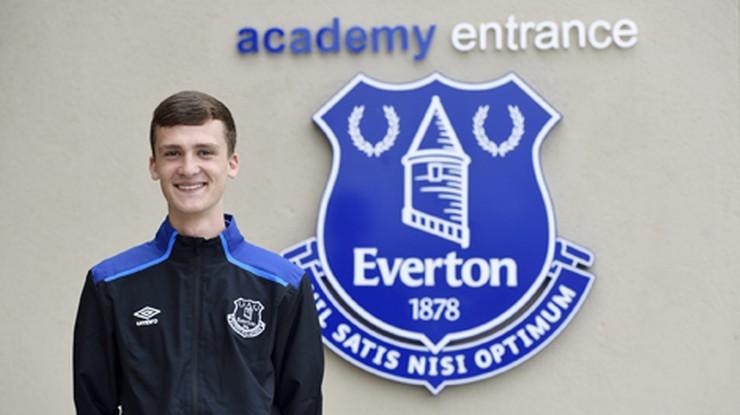 16-nastoletni Paweł Żuk z Manchesteru podpisał kontrakt z Evertonem