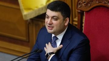 13-04-2016 21:15 Ukraina: koalicja zatwierdziła kandydaturę Hrojsmana na premiera