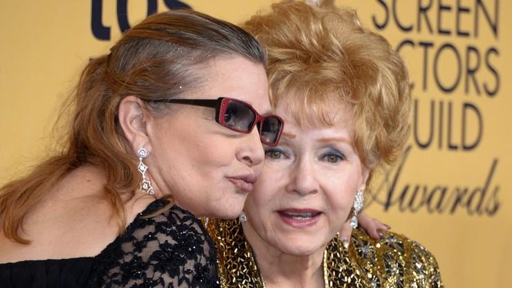 Debbie Reynolds, matka Carrie Fisher, zmarła dzień po córce